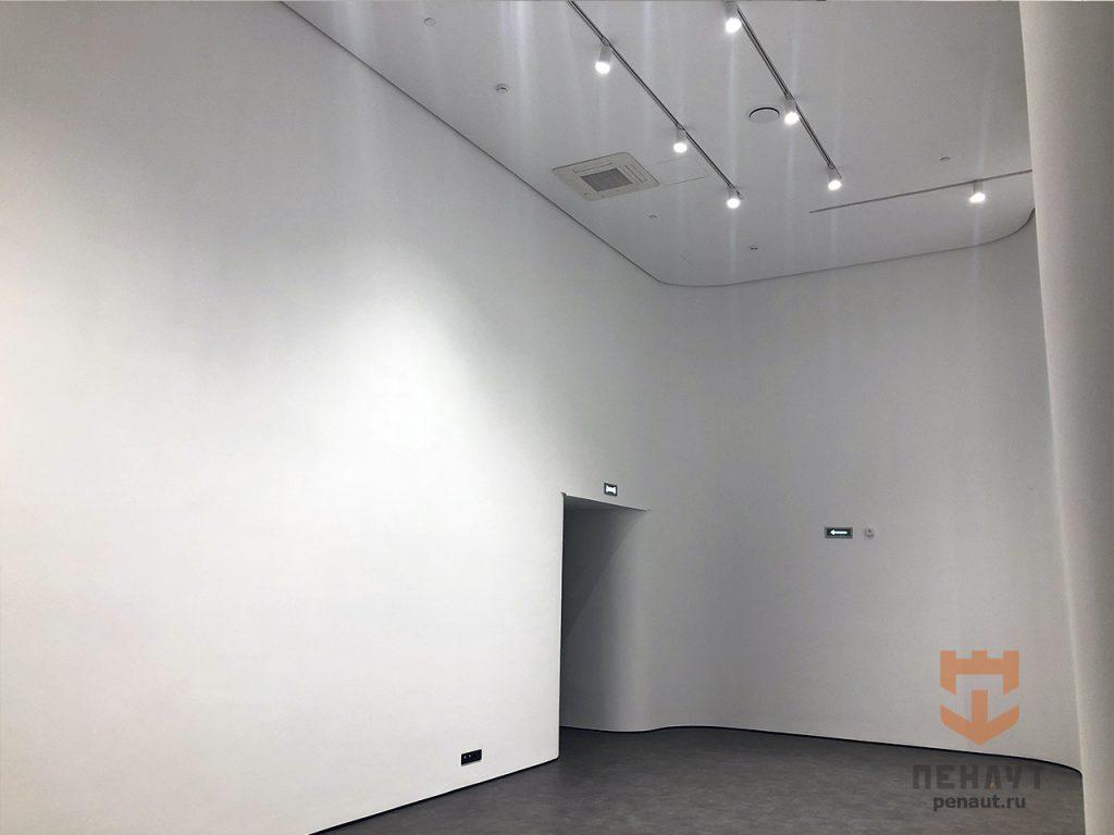 Фото Покраска выставочного зала для  Знаменского СГЦ