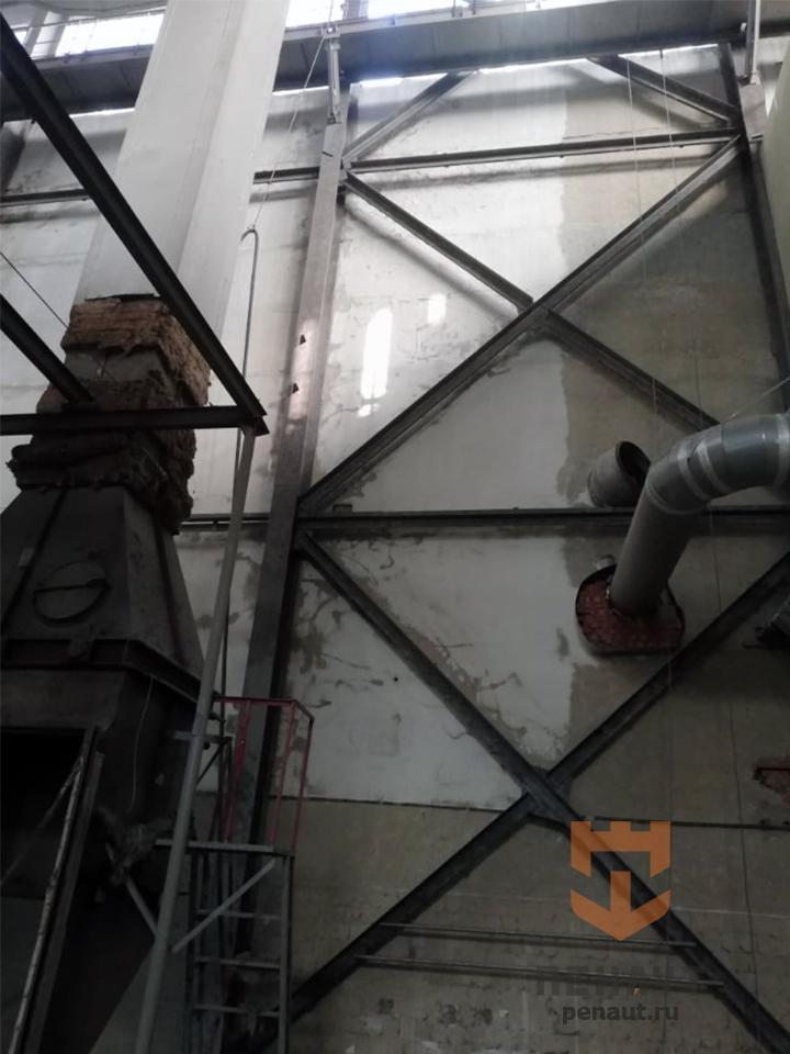 Абразивная очистка стен на «Сыробогатов»