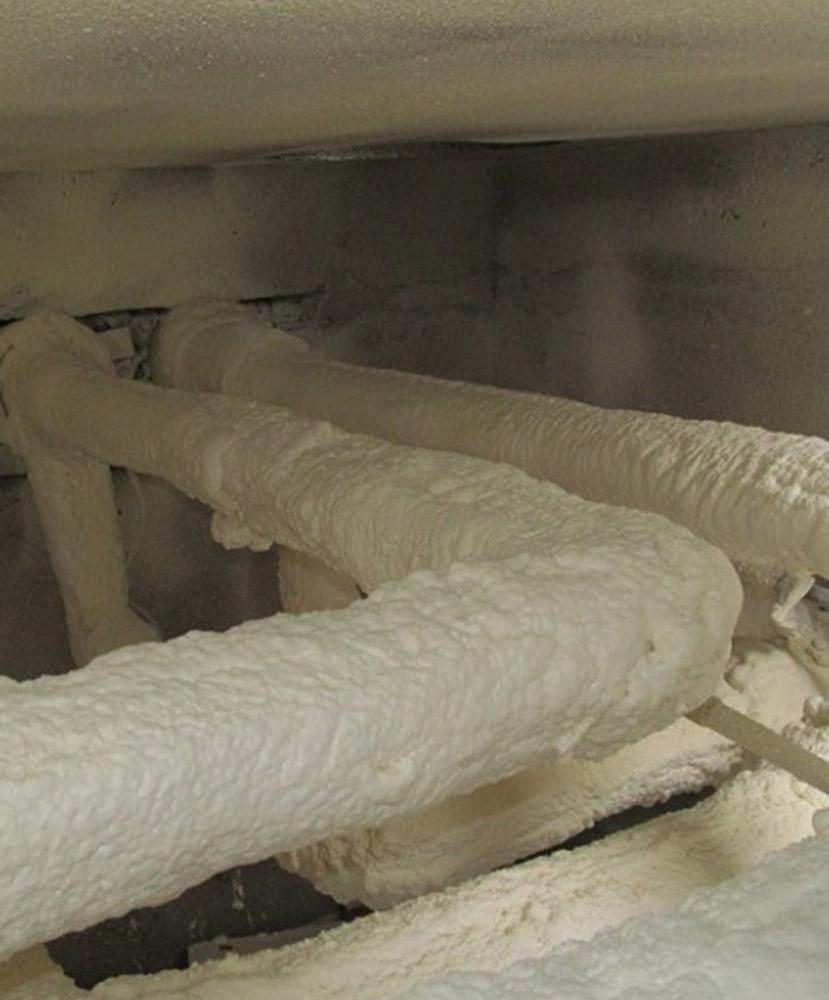 Фото Теплоизоляция промышленных объектов пенополиуретаном