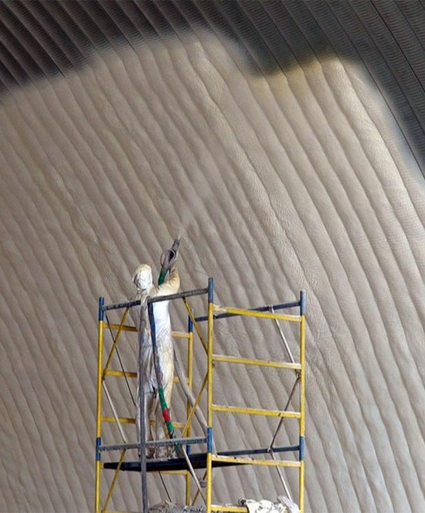 Фото Теплоизоляция ангаров в сжатые сроки