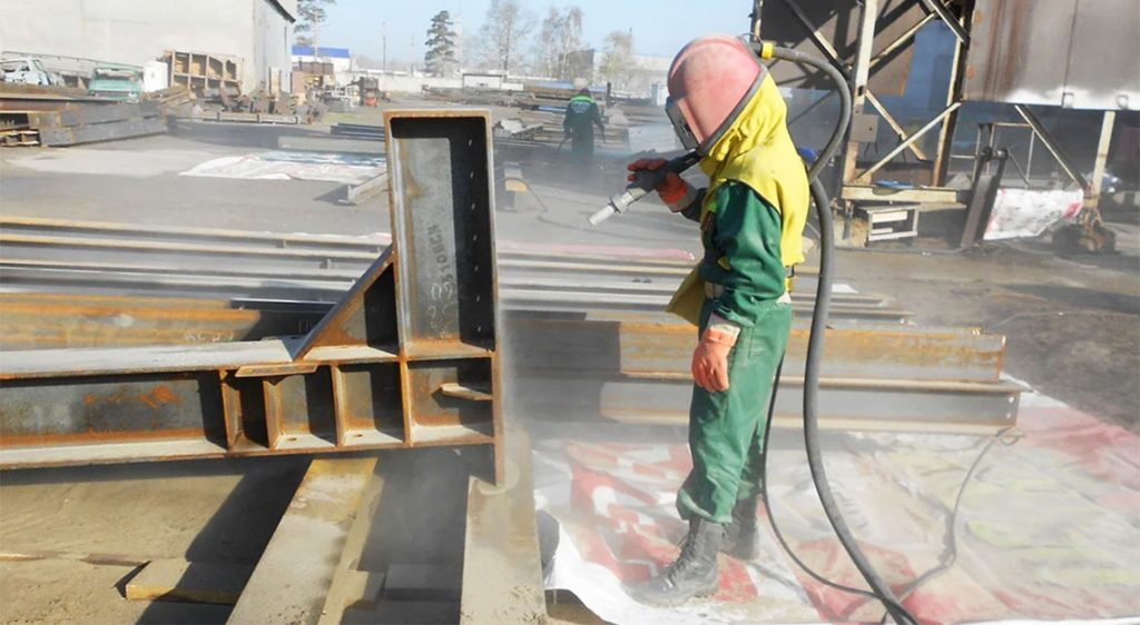 Фото Антикоррозионная защита металлоконструкций