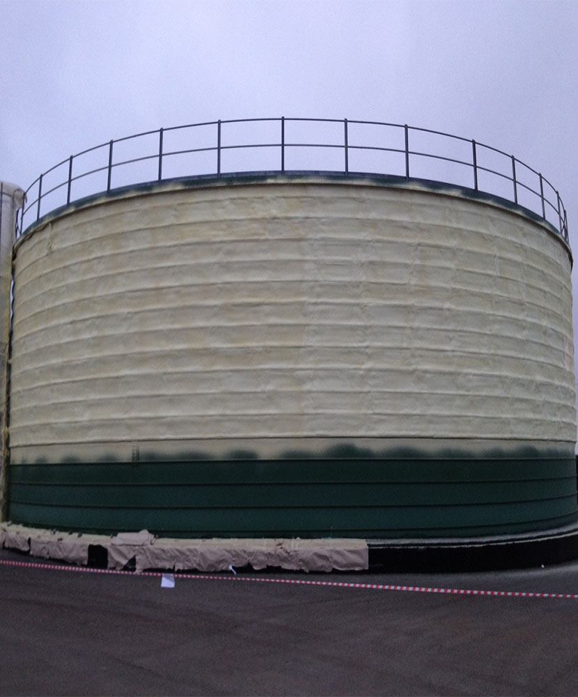Фото Теплоизоляция резервуаров