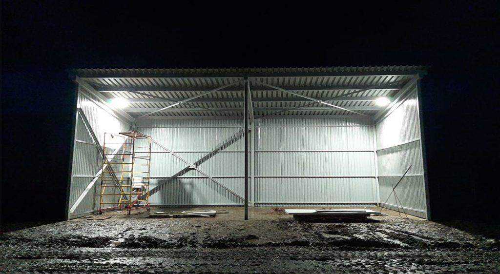 Фото Окраска металлоконструкций промышленных строительных объектов
