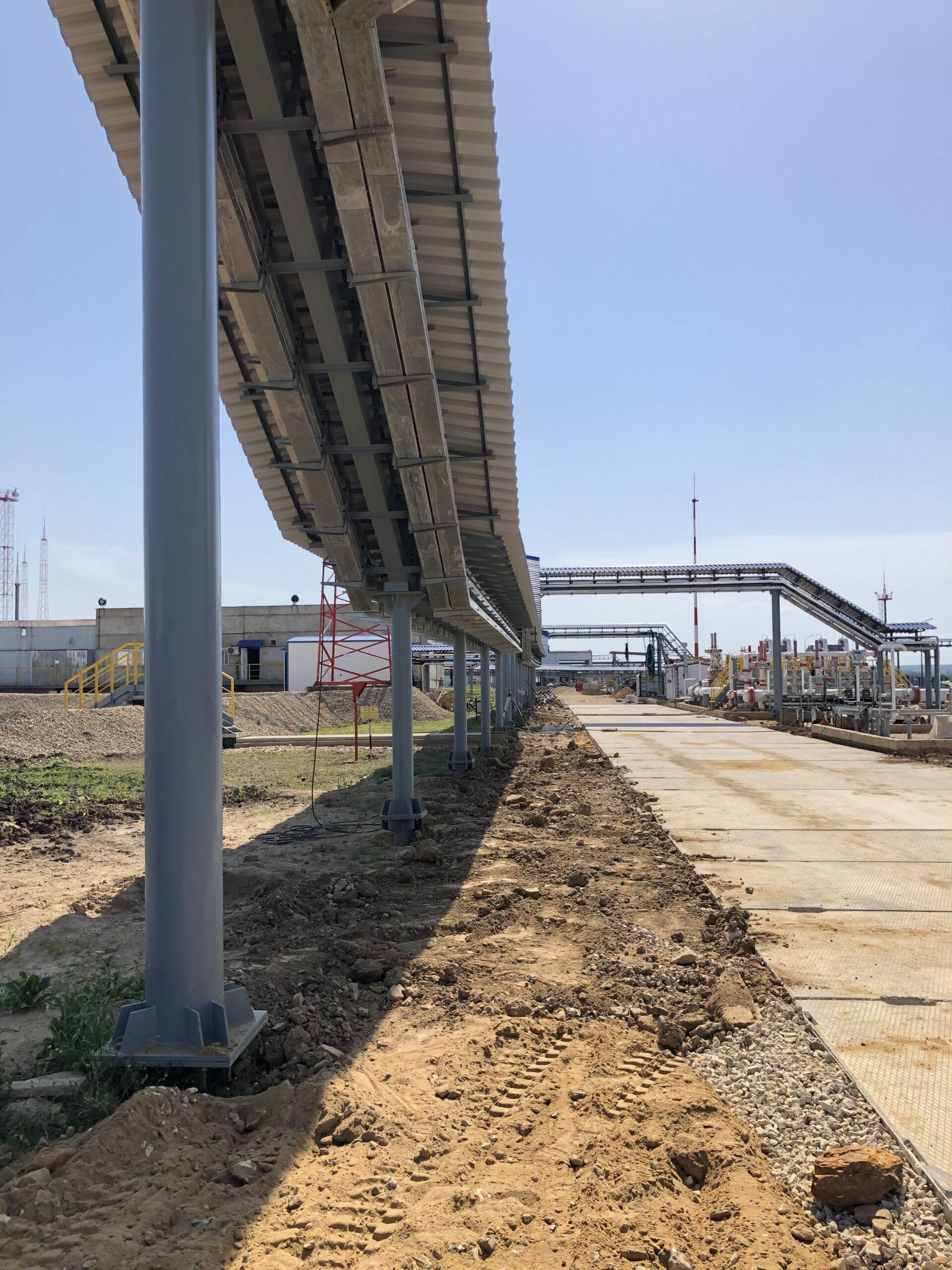 АКЗ эстакады и надземного трубопровода на АО «Транснефть-Дружба»